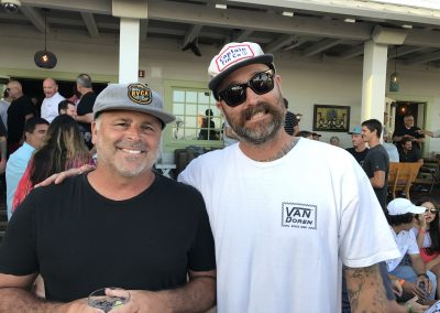 Tony Perez of TEN and Mitch Abshere