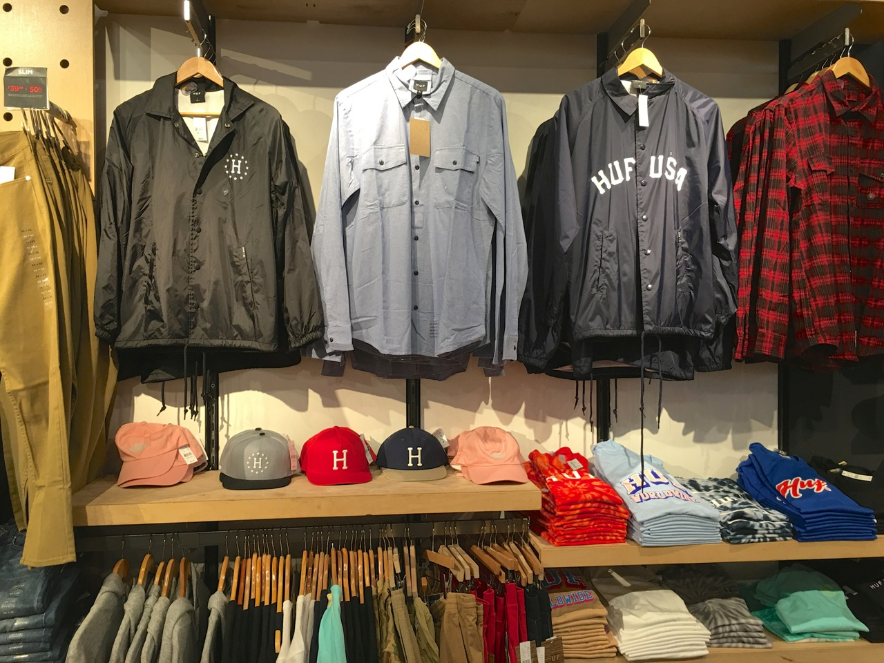 Huf in stores - SES file photo