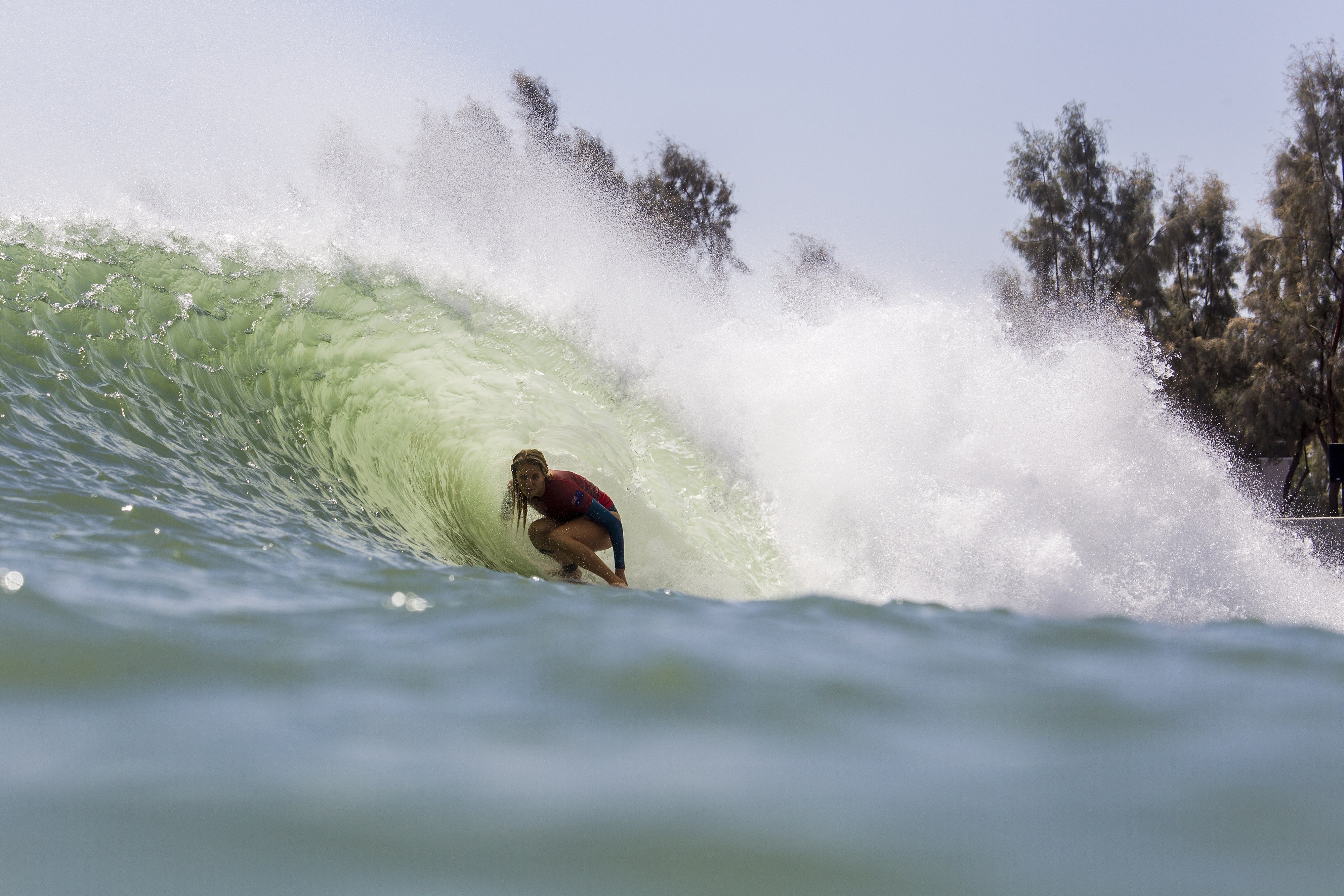 Six-time WSL Champion Stephanie Gilmore will lead Team Australia at the inaugural Founders' Cup of Surfing event at the Kelly Slater Wave Co Surf Ranch.  Credit: © WSL /  Morris