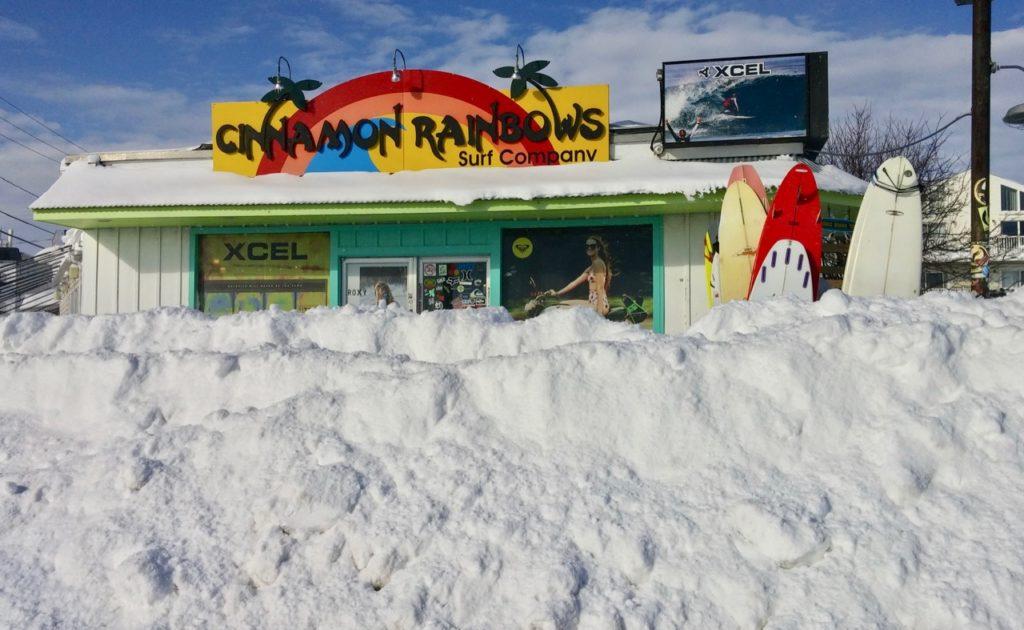 cinnamonRainbow snow