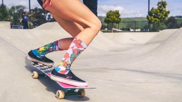 Steve Caballero Turtle Power Sock by MERGE4