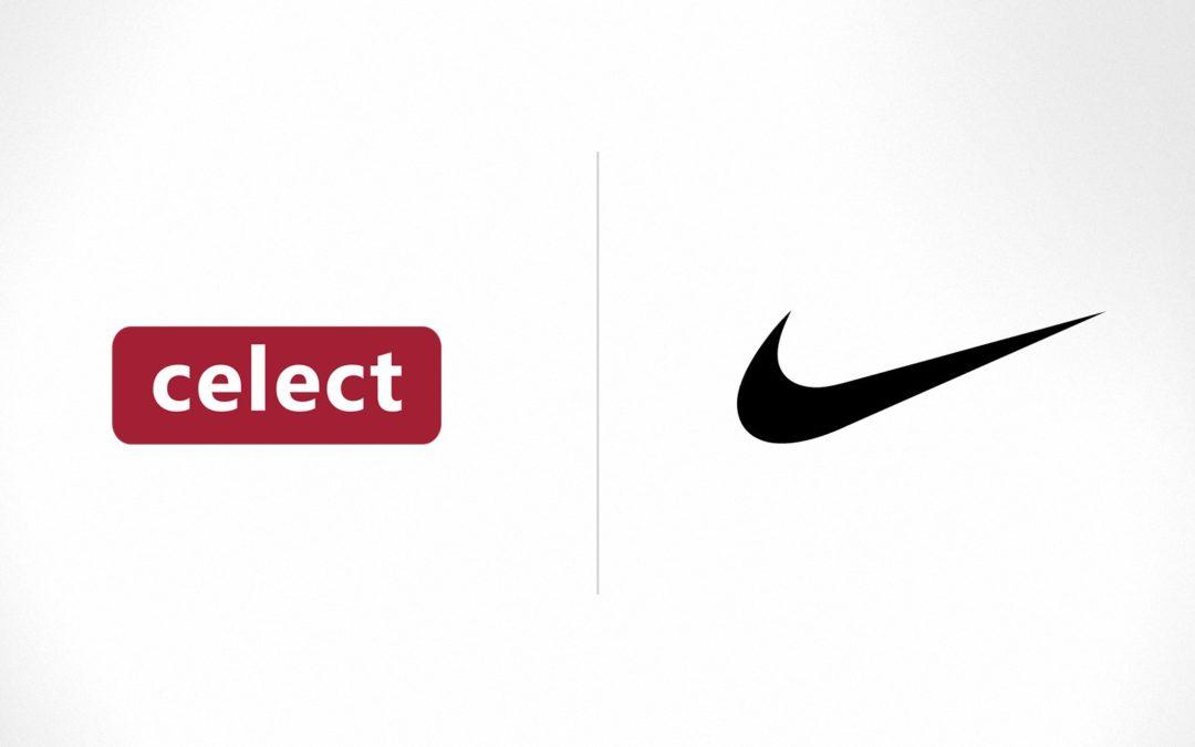 Celect Nike Logo Lockup original