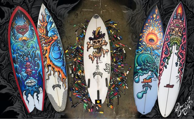 Surfboard header