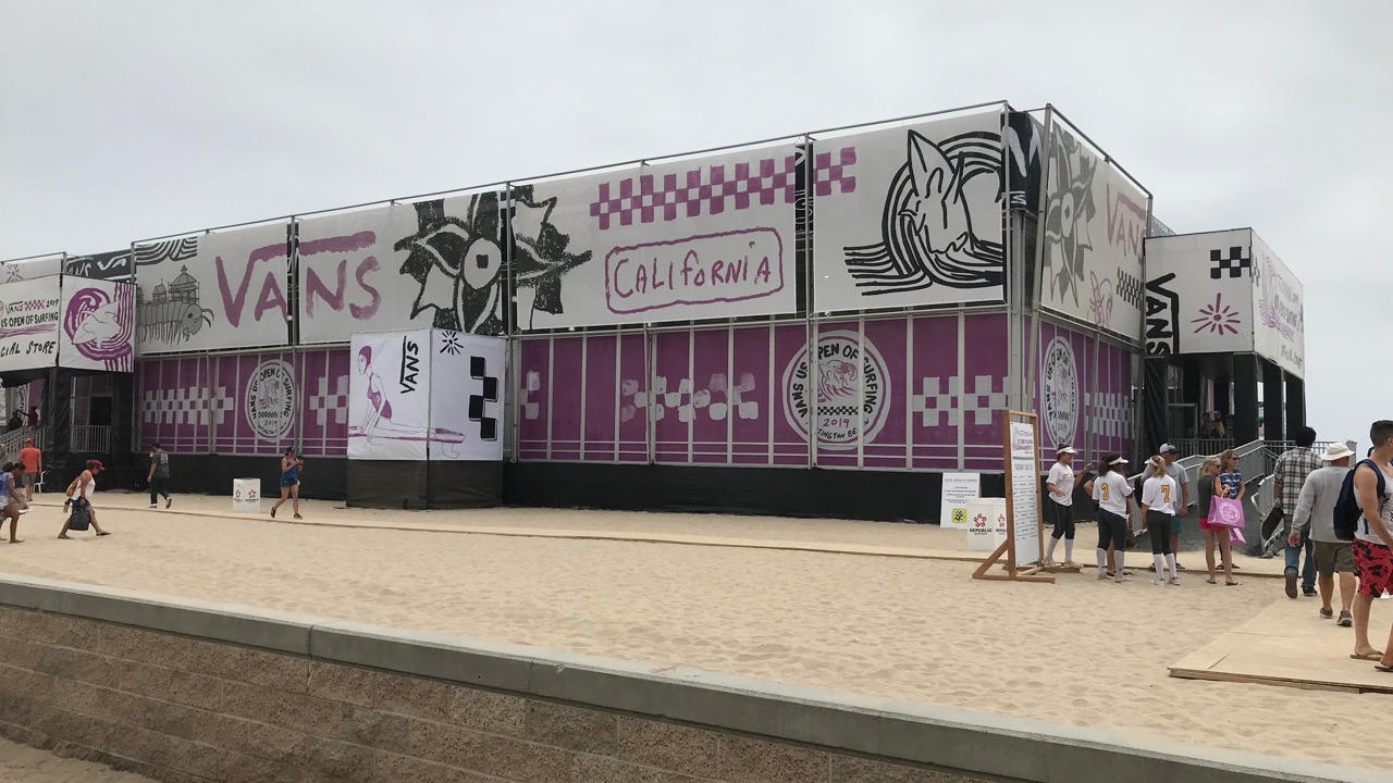 Larger Store and More at Vans US Open