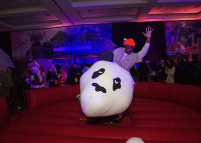 Enjoi mechanical panda rides