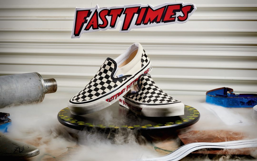 """Vans to Reissue """"Fast Times"""" Checkerboard Slip-On"""