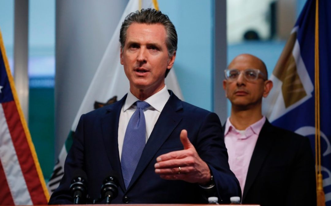 California Orders Residents to Stay Home