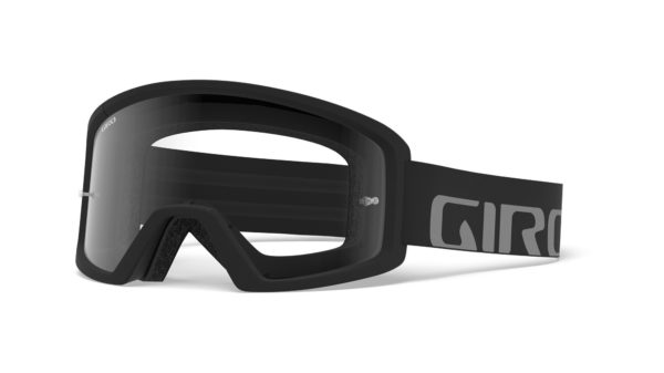 giro blok mtb black grey goggle clear hero