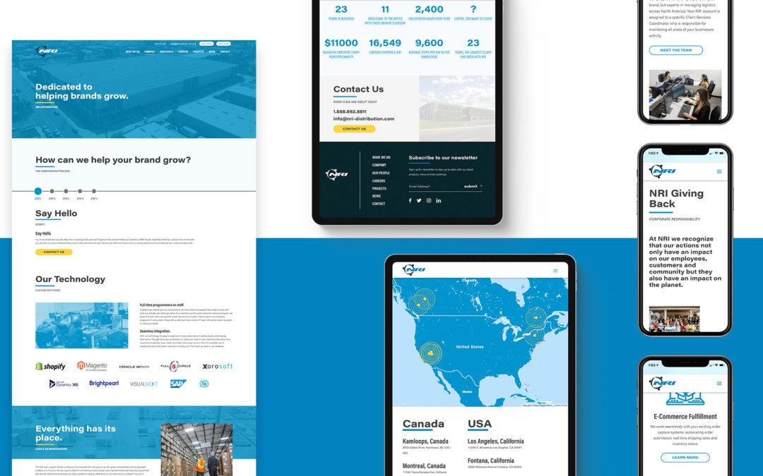 NRI Launches Website Design Built by Libre Design