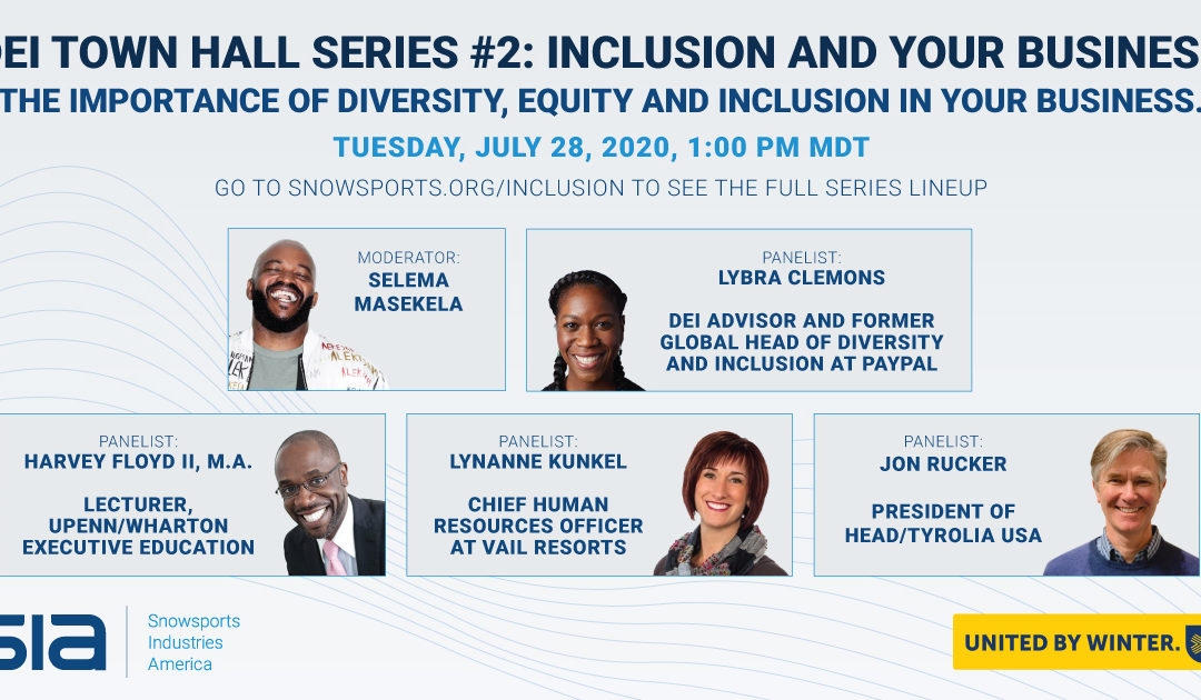 SIA Town Halls: A Series of Conversations on Inclusion