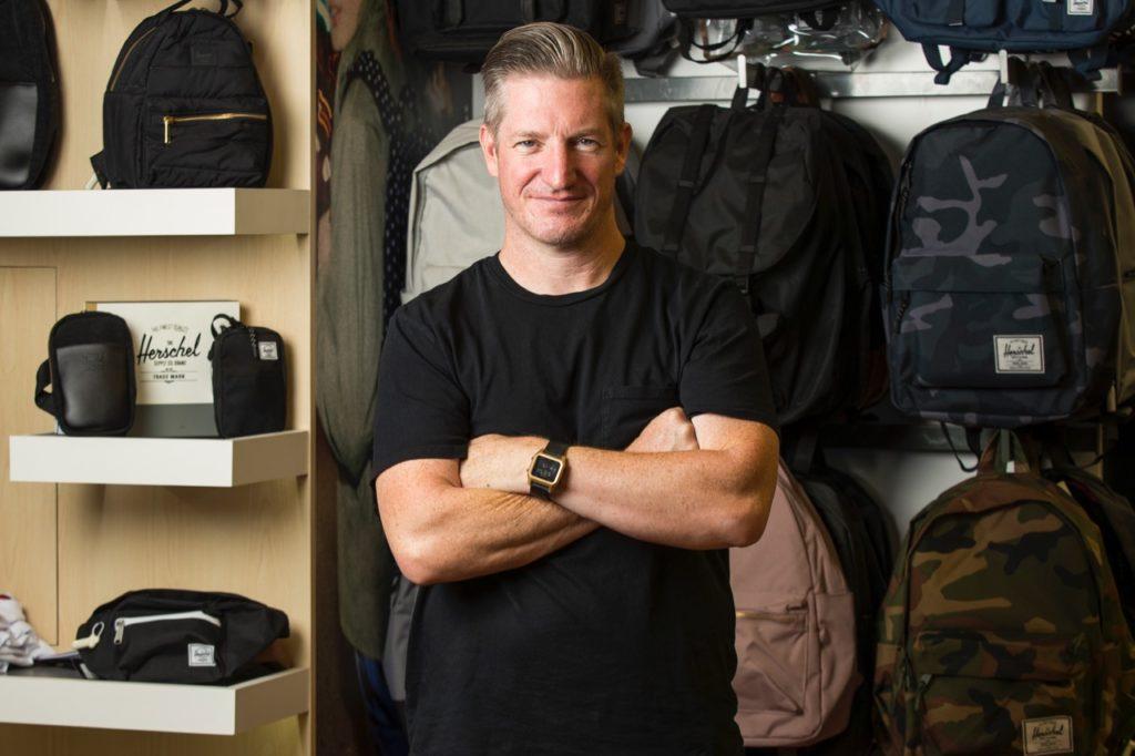 Herschel Supply Brian White SVP of Global Sales