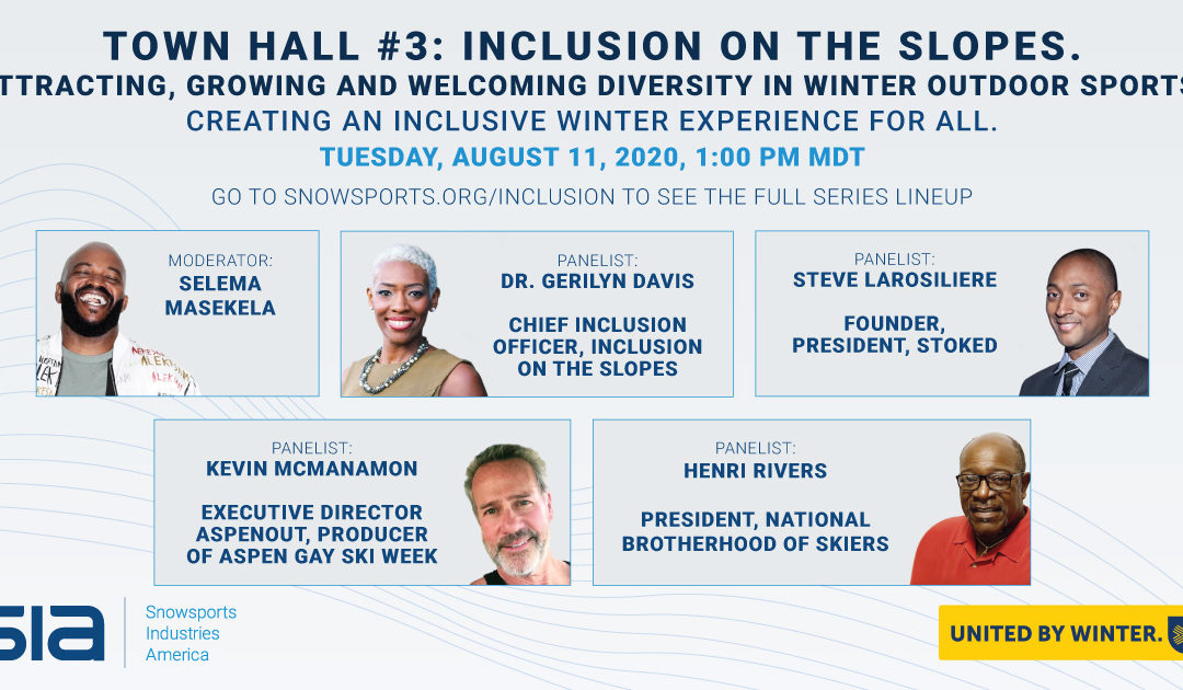 SIA Town Hall: Inclusion on the Slopes