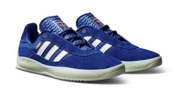 Adidas FW20 Puig Blue OnWhite HeroFront