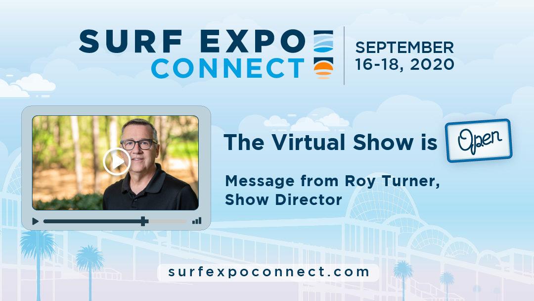 SurfExpoConnect SES ShowOpen ROY