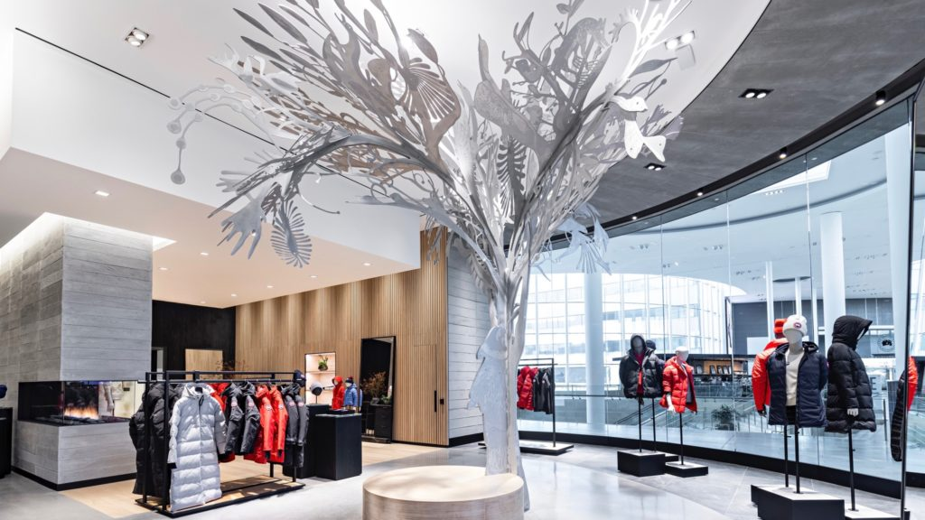 Canada Goose Yorkdale Story Tree