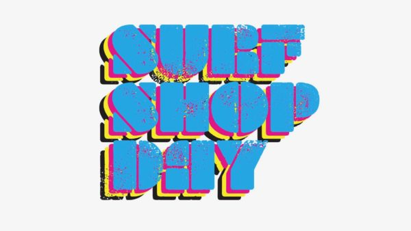 SURF SHOP DAY LOGO WHITE