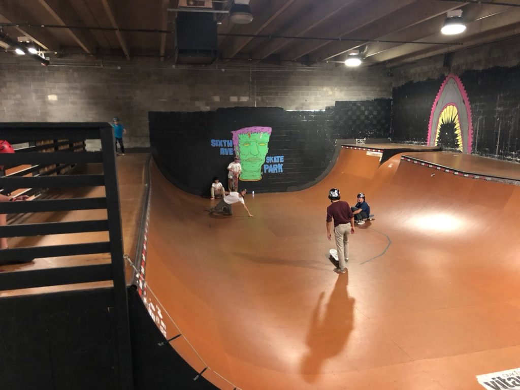 SixthAvenue skatepark