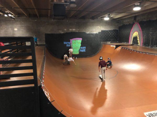 SixthAvenue skatepark