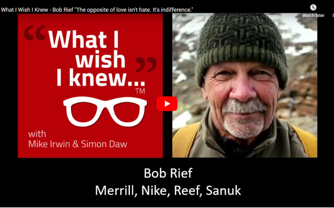 Learnings From a Lifetime of Building Brands & Creating Community with Bob Rief