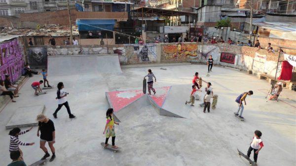 Kathmandu Skatepark Nepal 2016