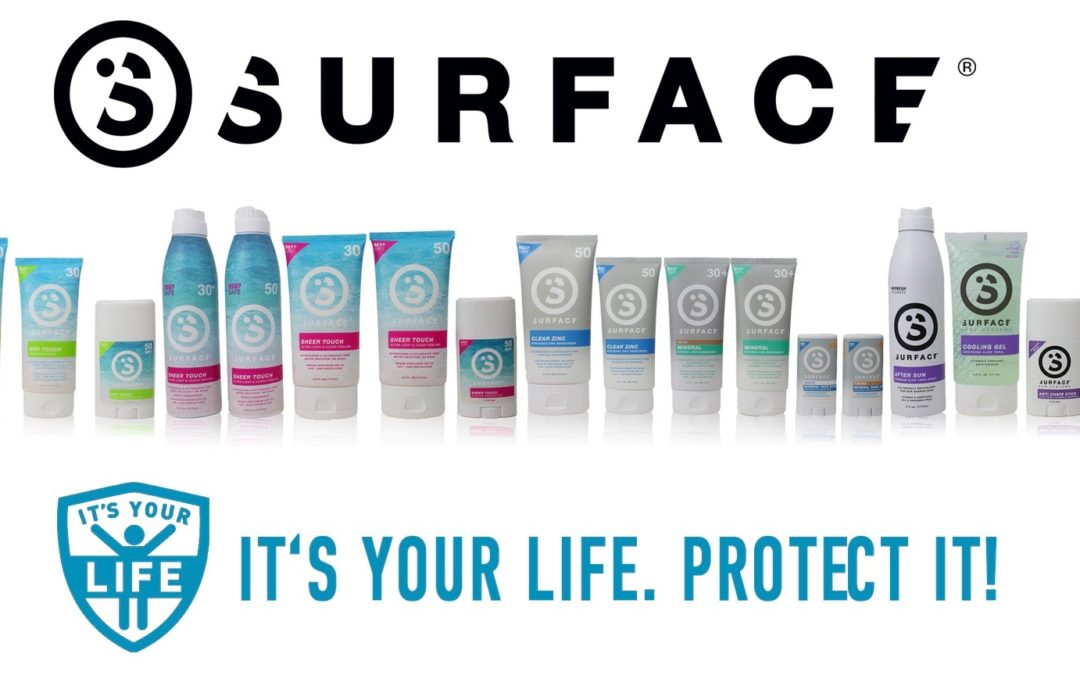 Surface Sunscreen Launches New Line