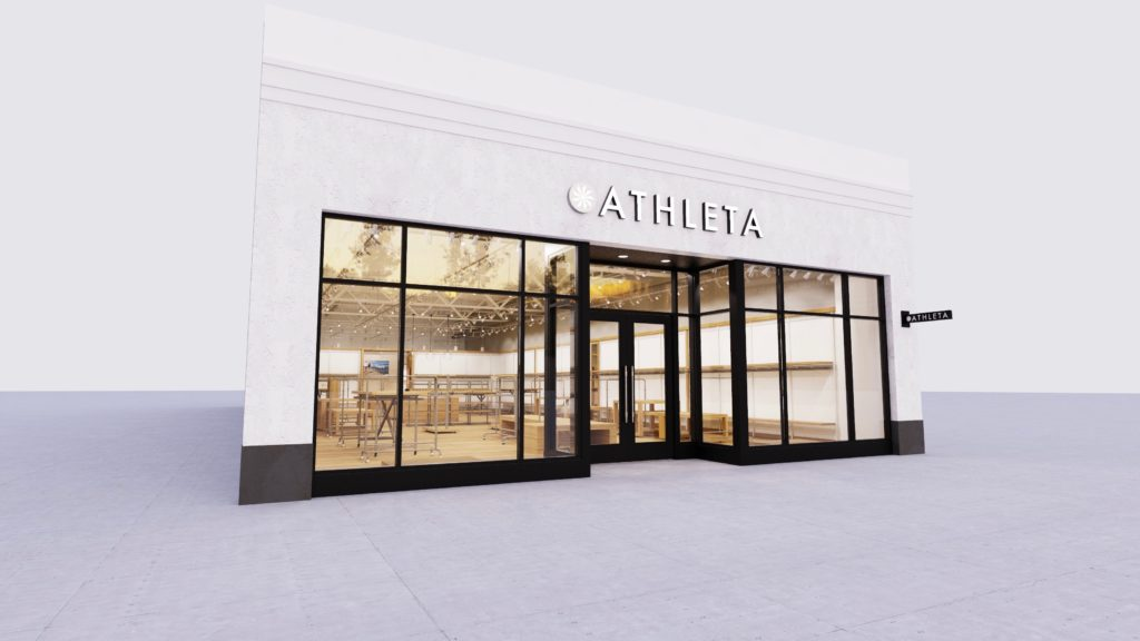 Athleta Store Rendering