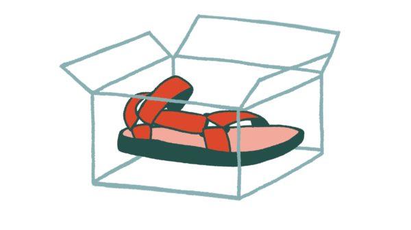 TevaForever ShoeinBox