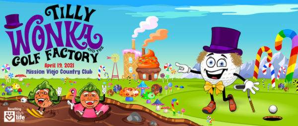 Tilly Wonka and the Golf Factory Web Banner
