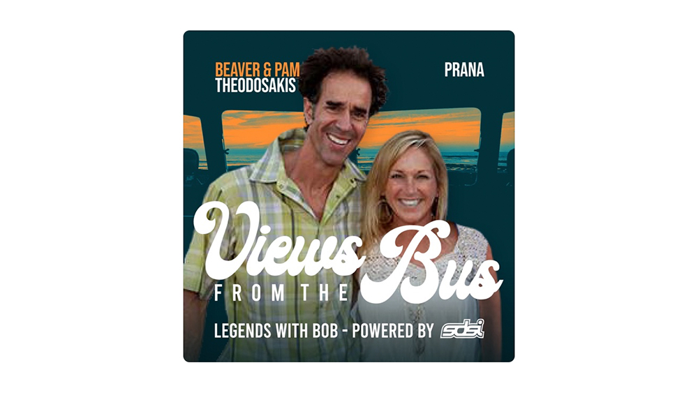 Views from the Bus: Beaver and Pam Theodosakis