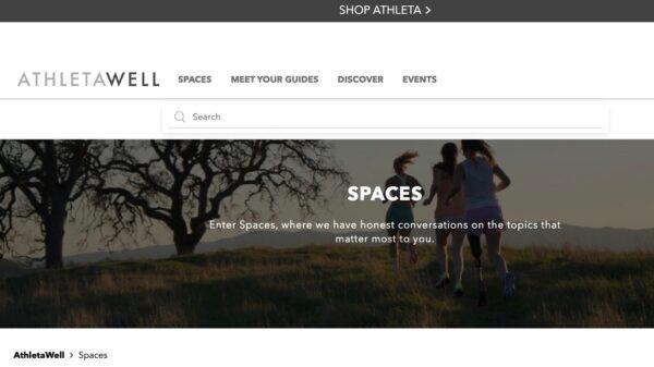 AthletaWell Spaces