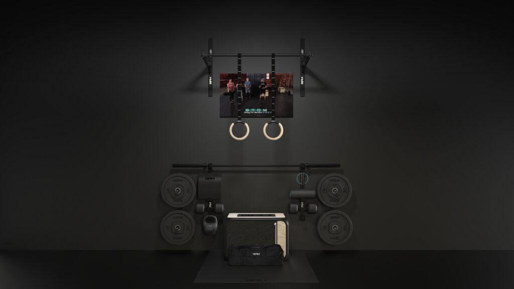 atom landing desk gear wide XLrg