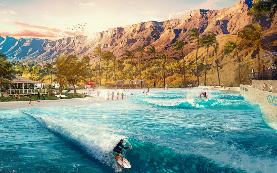 Taking Surf Skills to the Next Level with the Future of Wave Pools